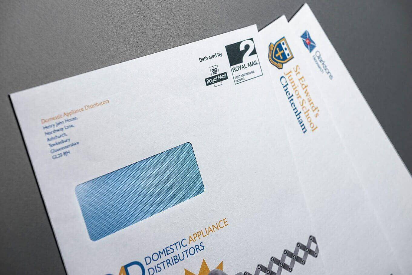 DIRECT MAIL & PERSONALISATION